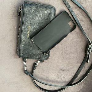 Bandolier Emma Pebble Leather Crossbody Case & wal